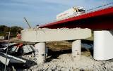 Trwa rozbiórka mostu nad Odrą na S3 [ZDJĘCIA]