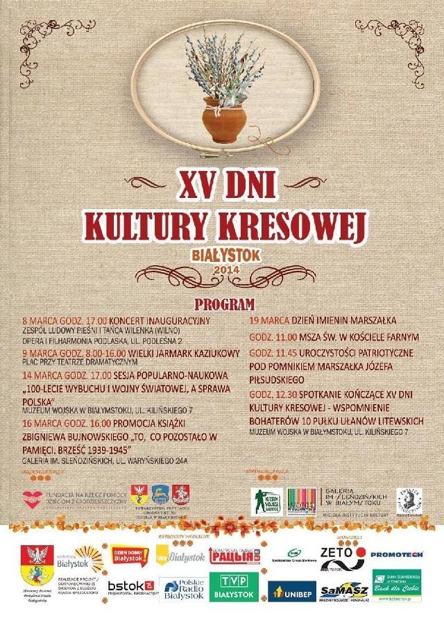 Dziś zaczynają się XV Dni Kultury Kresowej.