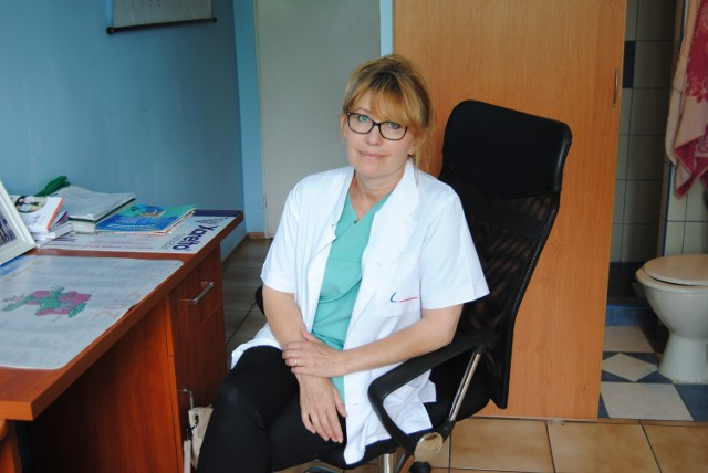 W głosowaniu prowadzi dr Śmigielska.