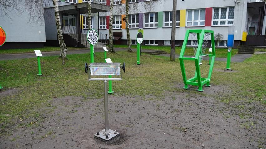 Edukacyjny plac zabaw przy SP 19 w Białymstoku zachęca...