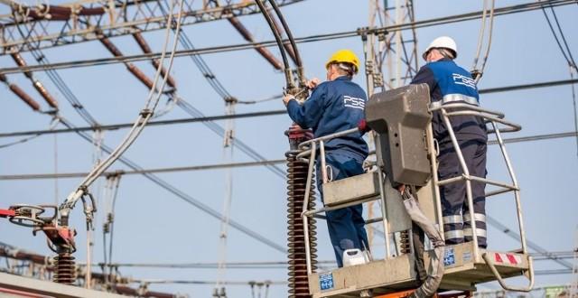 W Baczynie niedaleko Gorzowa powstaje nowoczesna linia elektroenergetyczna.