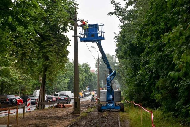 W Toruniu trwa modernizacja torowisk tramwajowych