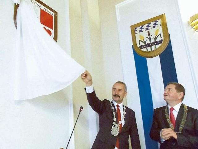 Oficjalnie odsłonięto   herb Kudowy-Zdrój