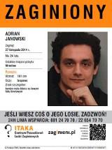 Zaginął Adrian Janowski. Ma 24 lata. Może go widziałeś? (FOTO)