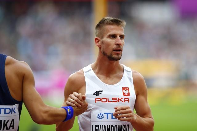 Marcin Lewandowski w swoim półfinale zajął trzecie miejsce.