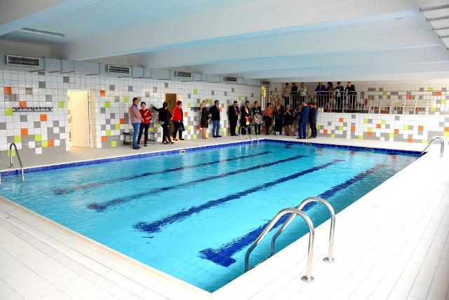 Szkoła Podstawowa nr 5, to jedyna placówka w Czeladzi, która ma basen