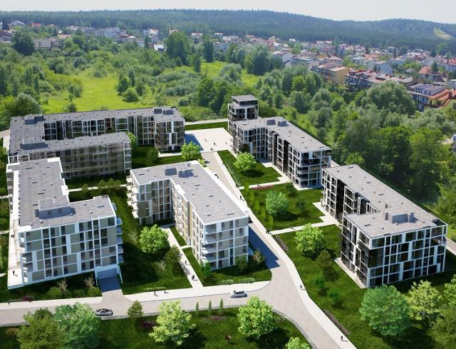 Liderzy Regionu 2012: Unimax z KielcNowy Baranówek_I etap, nowoczesny kompleks mieszkaniowy, Kielce ulica Kwarciana.