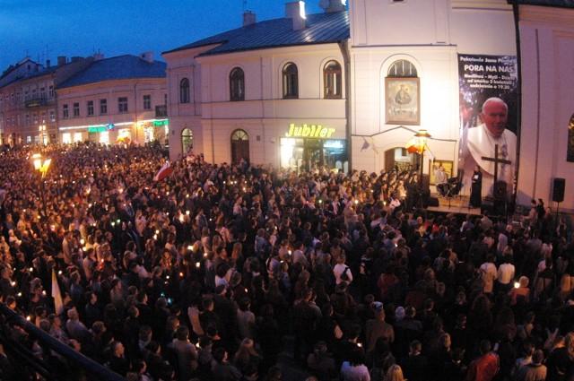 Tak Lublin żegnał papieża Jana Pawła II