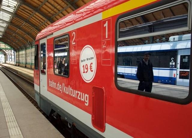 18 tys. pasażerów od końca kwietnia przewiózł pociąg relacji Wrocław-Berlin