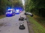 Poważny wypadek w Czernicy. Zderzyły się trzy samochody. Pięć osób rannych [ZDJĘCIA]