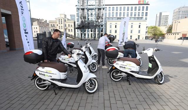 Bleenkee.City i Jeden Ślad - dwie wypożyczalnie skuterów w Łodzi