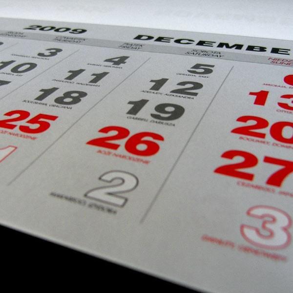 W nowym roku stracimy trzy dni świąteczne, przypadające w niedziele.