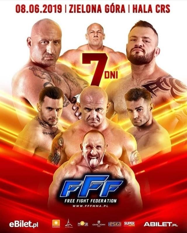 Gala FFF 2019 online stream za darmo. Transmisja TV w internecie na żywo. Kiedy gala i gdzie oglądać Free Fight Federation 2019?