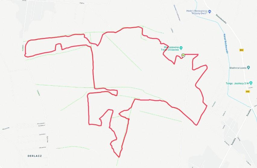 Wieliszewska Trasa Crossowa. Tylko 12,5 km, ale ponad 200 m...