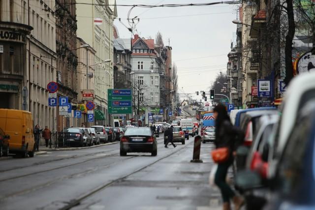 Przebudowa centrum Katowic - remont ulicy Kościuszki