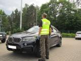 Skradzione BMW z Belgii. Obywatel Litwy uciekał przed patrolem