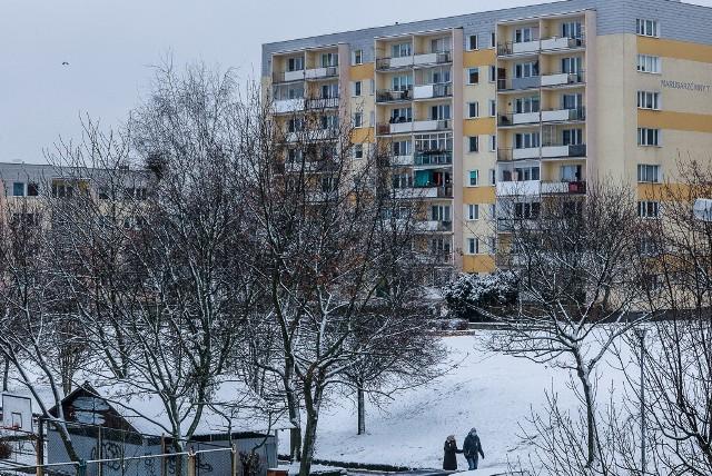 Zima na Górnym Tarasie Gdańska. Zobacz zdjęcia >>>