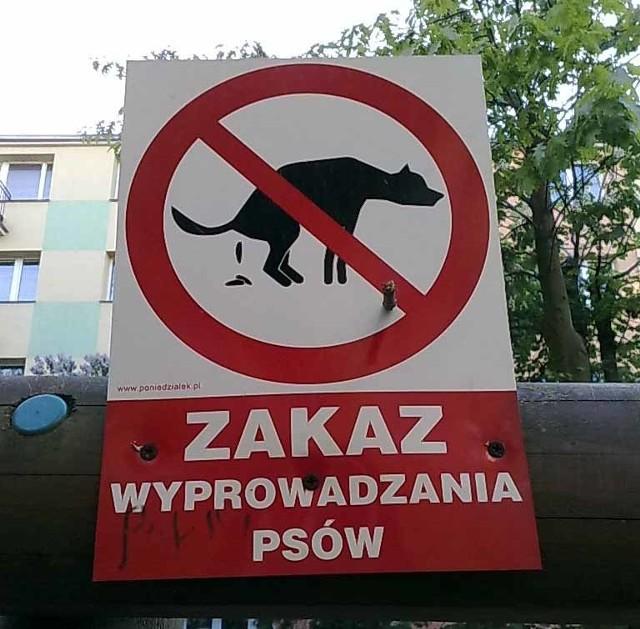 Właściciele wyprowadzający psy często po nich nie sprzątaj
