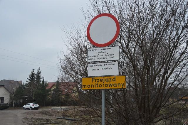 Zakaz wjazdu na tymczasowy przejazd nie dotyczy tylko komunikacji miejskiej i służb komunalnych