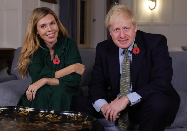Premier Wielkiej Brytanii Boris Johnson i Carrie Symonds wzięli cichy ślub w katedrze Westminster w Londynie