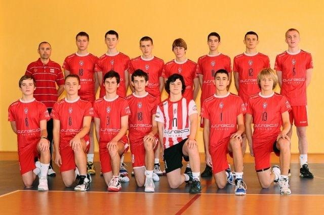 Złota drużyna AKS-u Resovia Rzeszów.
