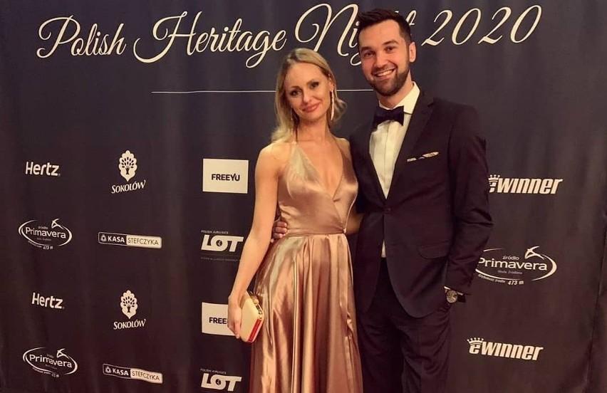 Znana dziennikarka żużlowa Marcelina Rutkowska i toruński...