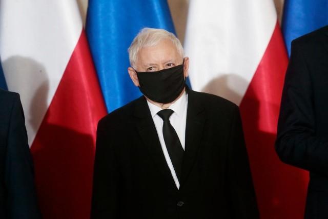 Jarosław Kaczyński wydał oświadczanie ws. zakupu respiratorów
