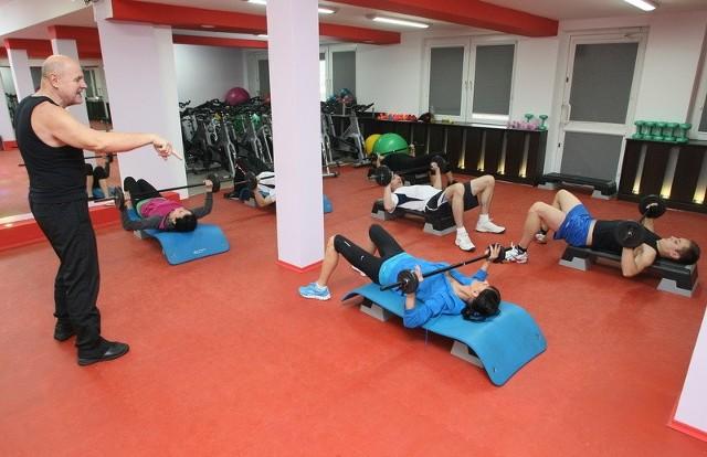 Jednym z punktów programu podczas maratonu w Expert Fitness były ćwiczenia magic bar. W ruch poszły wszystkie mięśnie!