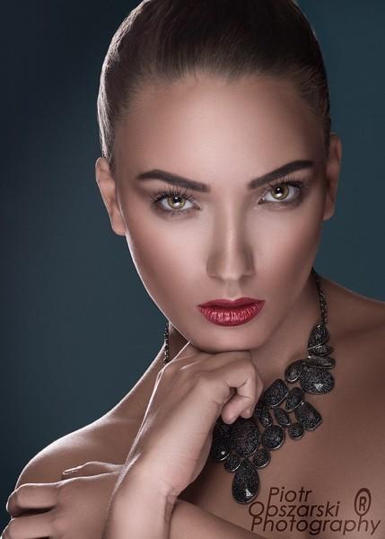 Na zdjęciu ambasadorka konkursu Miss Polka, Karolina Jackiewicz.