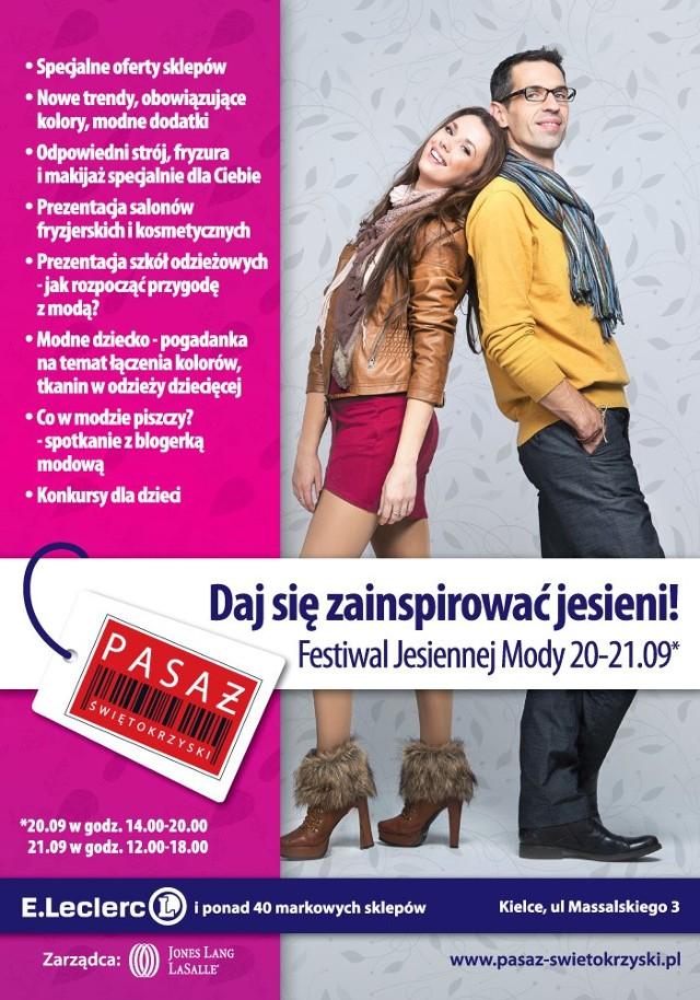 Festiwal Jesiennej Mody w Pasażu Świętokrzyskim