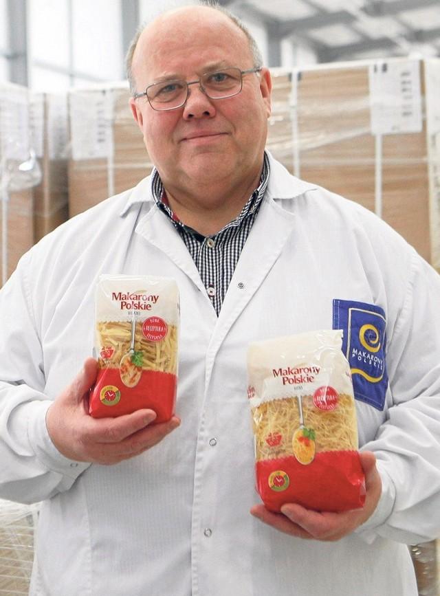 Zenon Daniłowski, prezes zarządu Makarony Polskie SA