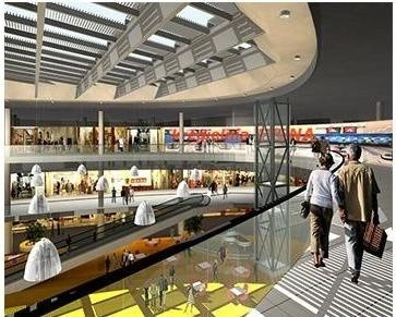 Tak będzie wyglądać Arena w Słupksu. Czy będzie podobna do planowanej galerii w Starachowicach?