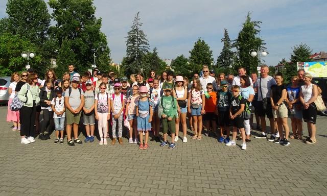 Do Stegny wyjechała 45-osobowa grupa dzieci w wieku 8-16 lat.