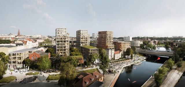 Tak prezentować się ma Nowy Port w Bydgoszczy.