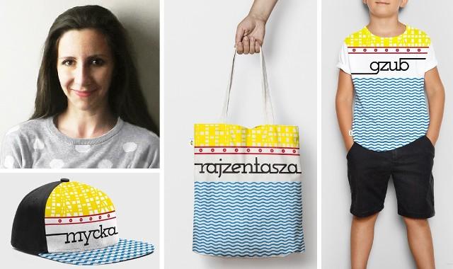 Bydgoszczanka Anna Laska zaprojektowała linię bydgoskich gadżetów tekstylnych, które wygrały w konkursie ogłoszonym przez Miasto Bydgoszcz