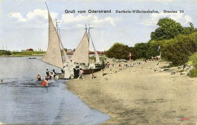 Wrocławskie przedwojenne plaże i kąpieliska nad Odrą