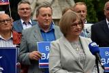 Wybory parlamentarne. Adam Piechowicz miejski radny w Gorlicach w czasie kampanii wyborczej postanowił wspierać posłankę Barbarę Bartuś