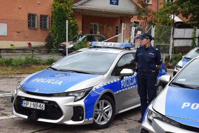 Nowe radiowozy dla opolskiej policji.