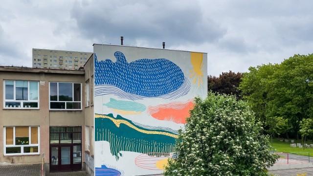 Nowy mural prezentujący zeppeliny zostanie symbolicznie odsłonięty w Dzień Dziecka o godz. 10.