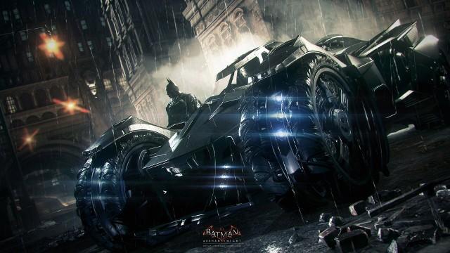 Batman: Arkham KnightGłowni bohaterowie gry Batman: Arkham Knight, czyli Batman i jego Batmobil