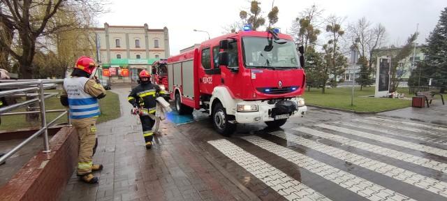 Od 14 do 16 kwietnia zorganizowano ćwiczenia związane z działaniami ratowniczo-gaśniczymi w budynku z pomieszczeniami przeznaczonymi na archiwa