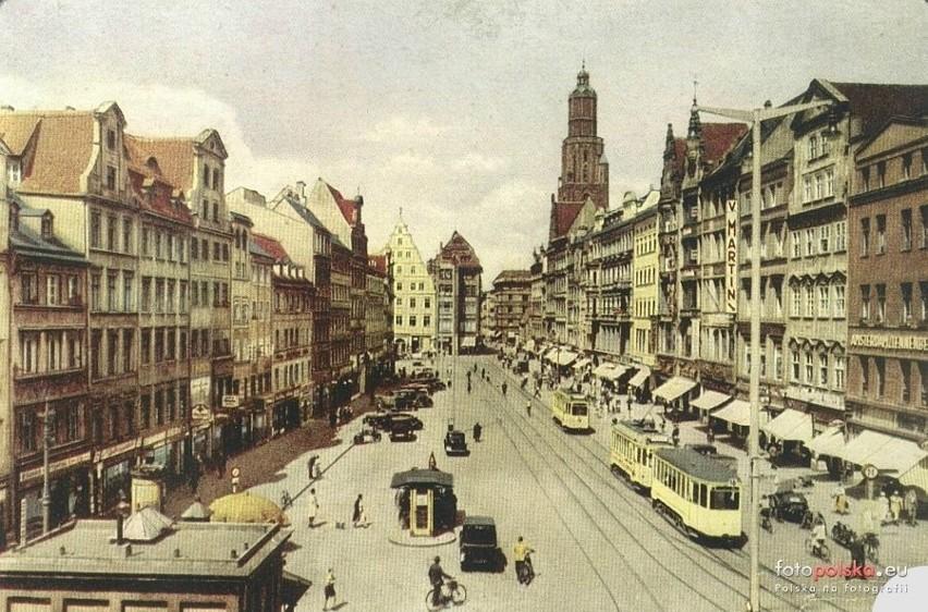 Rynek to duma Wrocławia. Tak było też w niemieckim Breslau -...