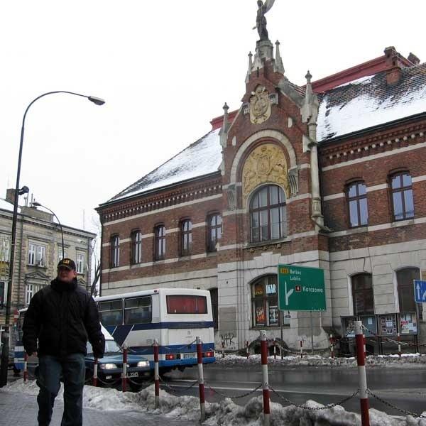 """Siedziba byłego """"Sokoła"""" to jeden z najbardziej znanych budynków w Jarosławiu."""