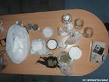 Narkotyki w Kielcach. Policjanci przeszukali mieszkanie i znaleźli pokaźną ilość białego proszku