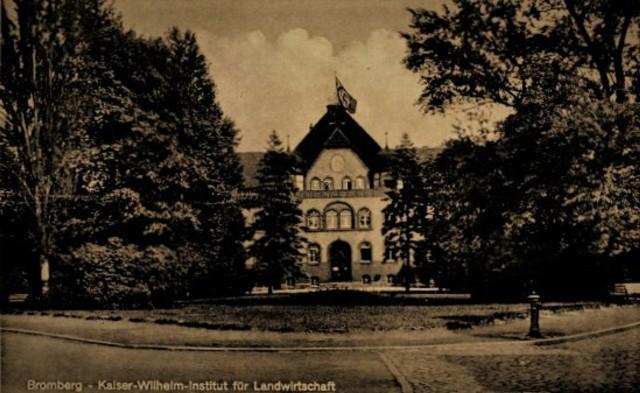 Instytut Rolniczy przy pl. Weyssenhoffa.