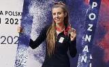 Karolina Młodawska z Kieleckiego Klubu Lekkoatletycznego została wicemistrzynią Polski w trójskoku