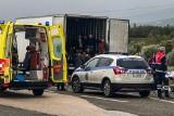 Grecja: Krok od tragedii, w ciężarówce chłodni odkryto 41 migrantów. Kilku trafiło do szpitala
