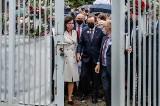 40. rocznica podpisania Porozumień Sierpniowych. Uroczyste otwarcie bramy Stoczni Gdańskiej z udziałem Tomasza Grodzkiego i Lecha Wałęsy