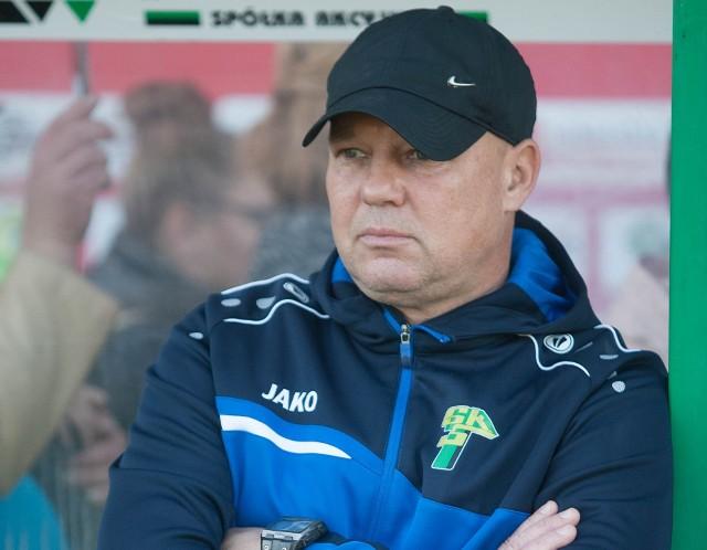 Piotr Mazurkiewicz nie poprowadzi swojej drużyny w dzisiejszym meczu z AZS UJ Kraków