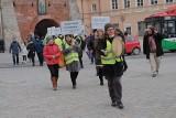 Strajk dla Ziemi w Lublinie. Nie chcą nowych kopalni. Pikietowali też przeciwko zabudowie górek czechowskich